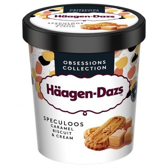 Glace Haagen Dazs Speculoos Caramel Biscuit & Cream