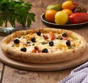 pizza diététique