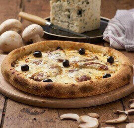 pizza magret roquefort