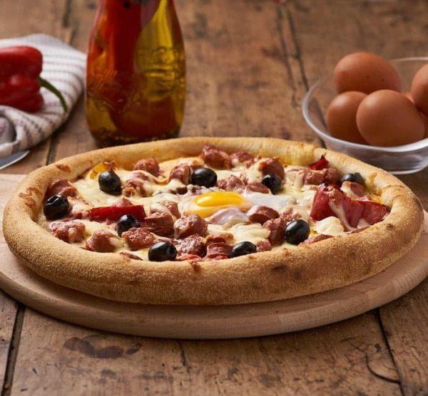 pizza pimienta
